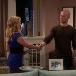 Melissa and Joey shake hands, sealing the deal that he will become their live-in nanny.