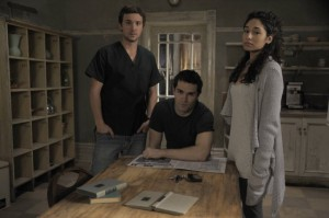 Josh, Aidan, and Sally from Being Human (US)