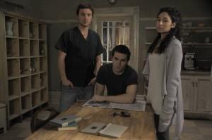 Josh, Aidan, and Sally from Being Human (US)