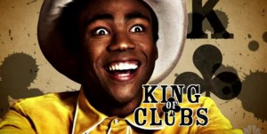 Troy as the King of Clubs