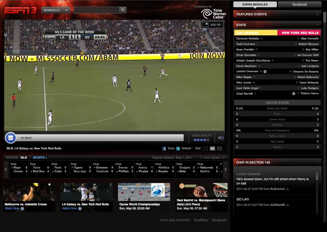 sports espn3 Its nice to know theres always someware to go in the Porn World. B)