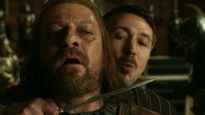 Petyr gets the drop on Ned