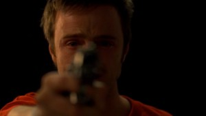 Jesse debates whether to shoot Gale.