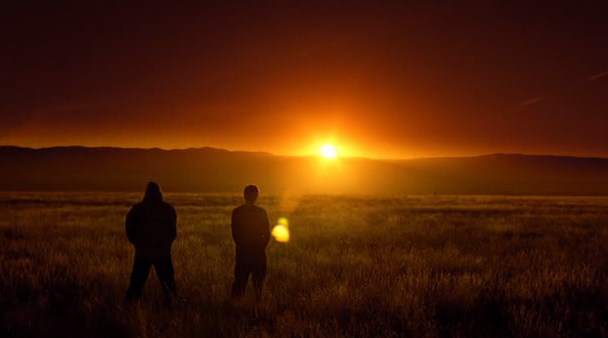 breaking bad sunset