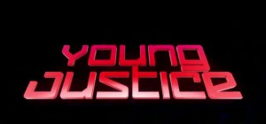 Young Justice Title Card