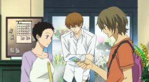 Rokka, Shimao, and Hazuki