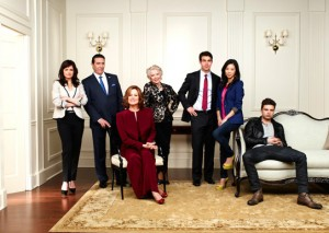 Cast of Political Animals