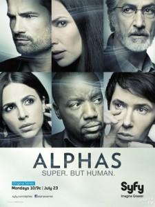 Alphas: Season 2 poster