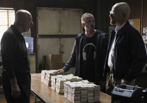 Mike, Jesse, and Walt discuss the cost of doing business.
